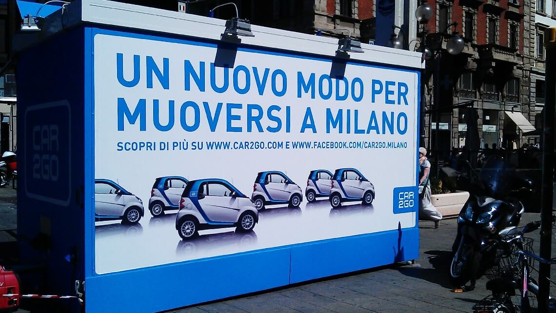 Press launch car2go Mailand